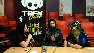 Hard Rock Hell 9 - Massive Wagons Interview