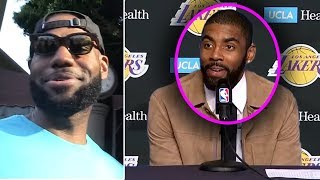 "UPDATE! Kyrie Irving TO LAKERS! ""I Wanted To Play With KD"" & Anthony Davis TRADE INCOMING!"