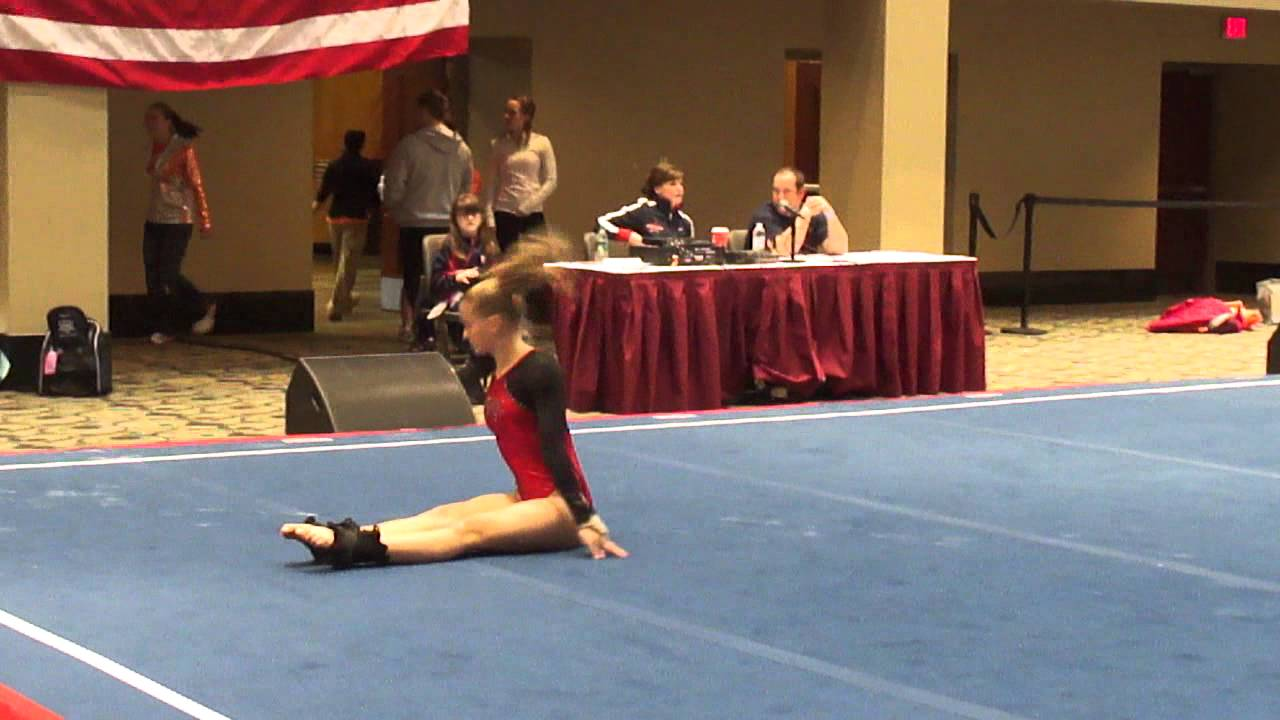Tori Carlson Level 10 Gymnast Class Of 2014 Floor Routine