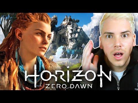 HO PROVATO HORIZON ZERO DAWN!!! - Horizon: Zero Dawn GAMEPLAY ITA (ANTEPRIMA)