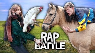 RAP BATTLE VS. MEINE SCHWESTER - Trau Dich Joey | Joey's Jungle