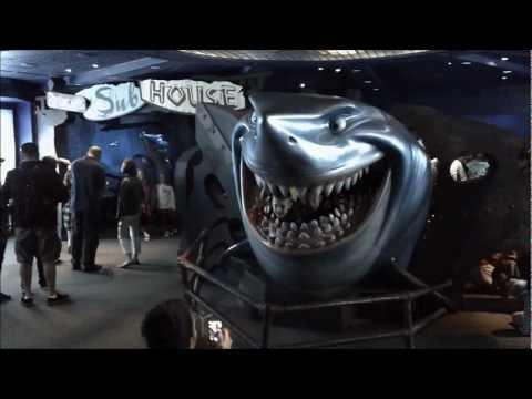 Finding Nemo Disney World Epcot - Full Ride in HD