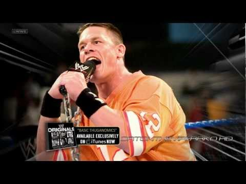 WWE 20032005-2012: John Cena 5th Old Theme Song - Basic Thuganomics...