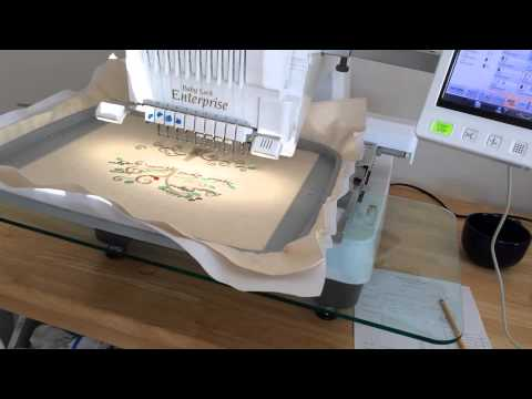 Creator Series | Embroidered Family Tree Wall Art | Behind the Scenes at Belinda Lee Designs