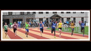 Snr. & Master Men's & Women's 100m at the 2018 Munster T & F Championships...Video by Jerry Walsh