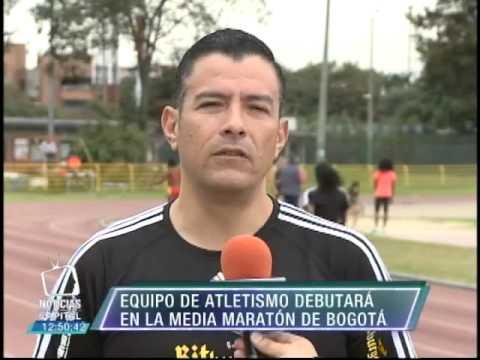Equipo de atletismo debutará en la Media Maratón de Bogotá