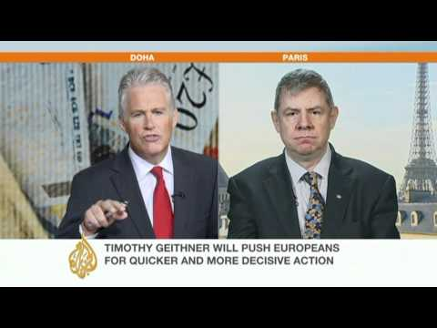 Economist speaks to AJE about Europe's debt