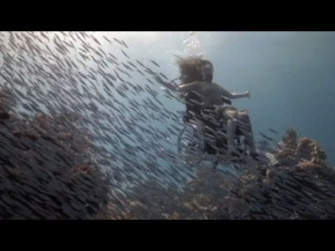 One Woman's Inspiring Life Underwater