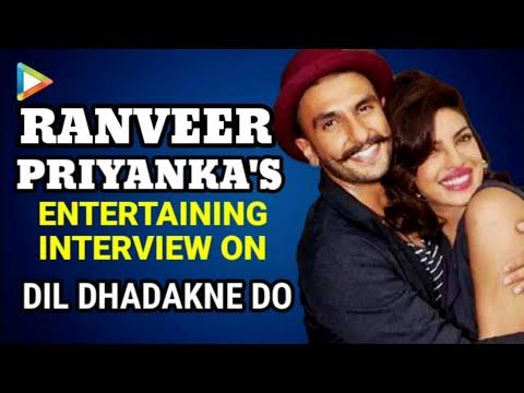 Ranveer & Priyanka Chopra's Interview On Dil Dhadakne Do | Bajirao Mastani | Deepika Padukone