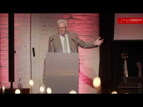 Rede Ministerpräsident Kretschmann