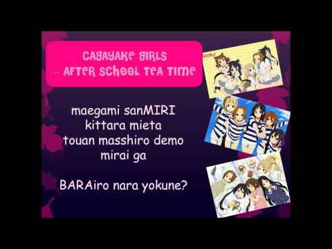 Houkago Tea Time - Cagayake! Girls