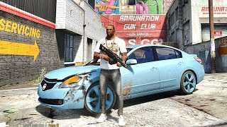 GTA 5 REAL LIFE CJ MOD #77 - AIN'T NUTHING BUT A G THANG !!!(GTA 5 REAL LIFE MODS/ THUG LIFE)