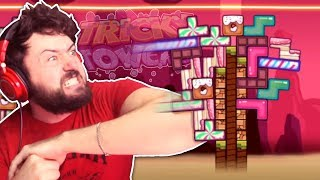 THE SECRET TO TETRIS: NUDGING! | Tricky Towers w/ Friends