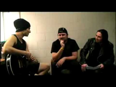 Trivium interview with corey beaulieu and paolo gregoletto part 1/2