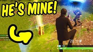 HE'S MINE! - 18 kill Fortnite w/Teo