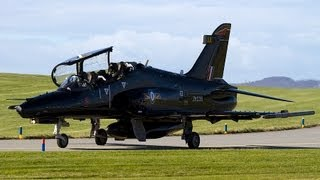 BAE Systems Hawk T2 (ZK016) departs RAF Valley (EGOV/VLY)