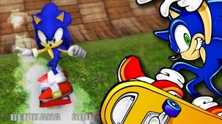 Sonic The Hedgehog's Lost Skateboarding Game - Unseen64