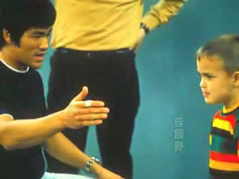 Bruce Lee Hong Kong TV show in 1969.