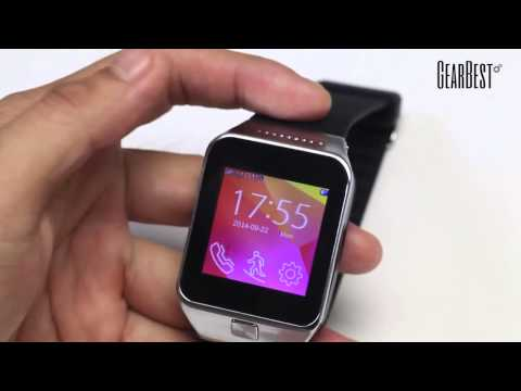 Touch Screen Smart Watch Phone with Single SIM MP3 Bluetooth