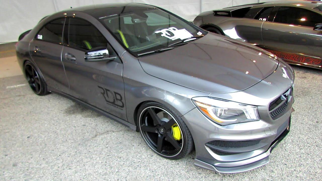 2014 mercedes benz cla class cla250 customized exterior for Mercedes benz customized