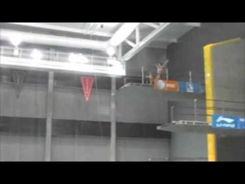 Iowa winter senior nats 2011, synchro 10 meter