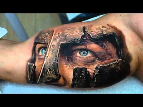 Best 3D tattoos in the world 2013 HD [ Part 1 ]