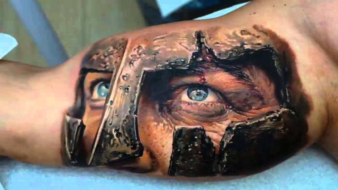 In The World HD Part 1 Amazing 3D Tattoo Design Ideas YouTube
