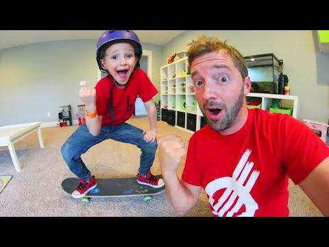I Learned A New Skateboard Trick!