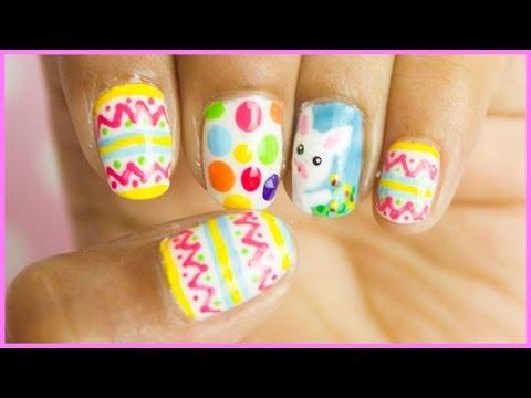 Easter Nail Art Design - Húsvéti köröm tipp