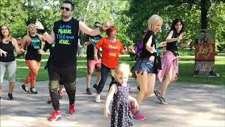 Fuse Odg - Ed Sheeran - Boa me - simple Zumba choreo to this fun music