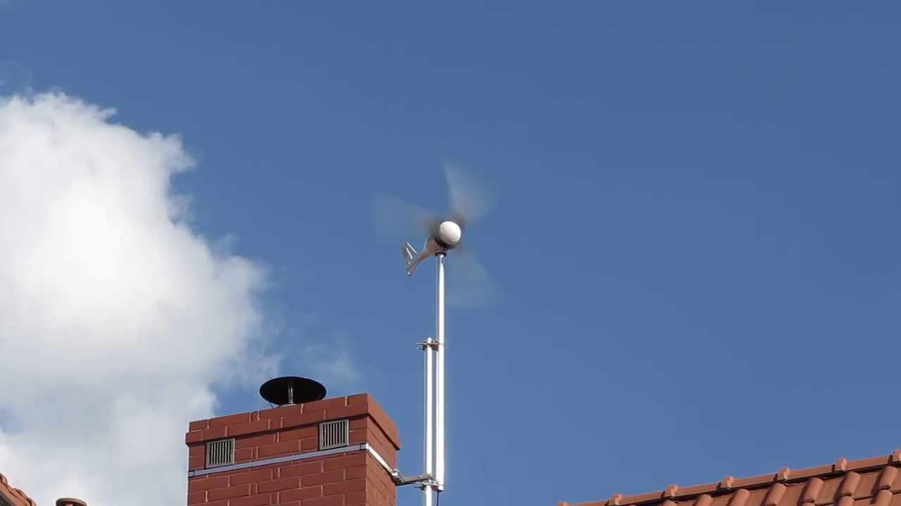 Ista Breeze 500w Wind Generator Test On Moderate Wind Speeds Youtube
