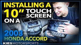 We installed an Android 10 inch touchscreen in a 14 year old Honda Accord (and it's awesome!)