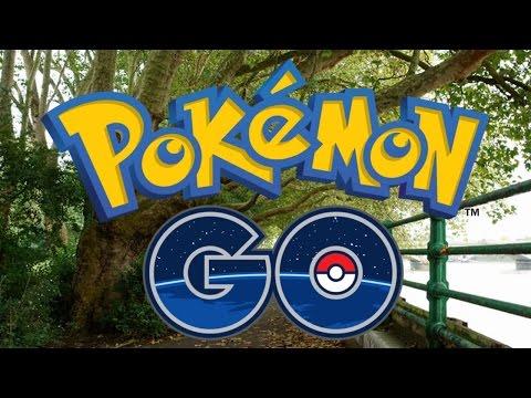 Pokemon GO! ★ Walkthrough Gameplay Part 1 - Outside Exploring! Catching 40+ Pokémon!