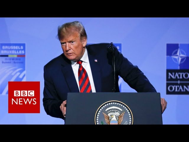 Trump: Nato states to up defence spending - BBC News