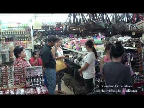 Nong Khai หนองคาย -Tha Sadet Indochina Market & Mekong Walkway
