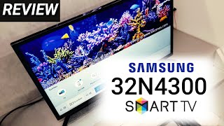 REVIEW SAMSUNG 32N4300 LED SMART TV indonesia HD