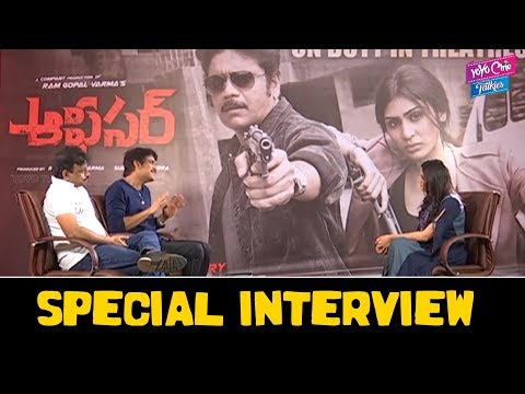 Officer Movie Interview | Nagarjuna RGV Interview | Ram Gopal Varma | Tollywood | YOYO Cine Talkies
