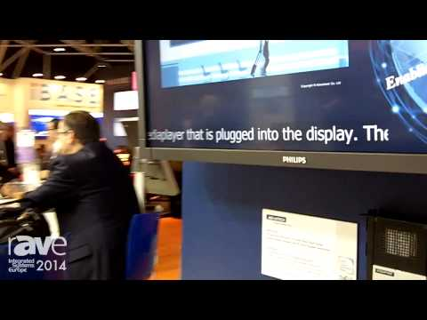 ISE 2014: AdvanTech Presents Its Digital Signage Players for up to Four Displays Using OPS Standards