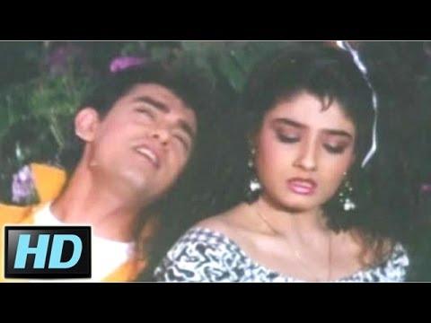 Dil Karta Hai Tere Paas Aau -  Aamir Khan Raveena Tandon Andaz...