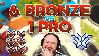 6 Bronze vs 1 Grand Master! Ft. Apply