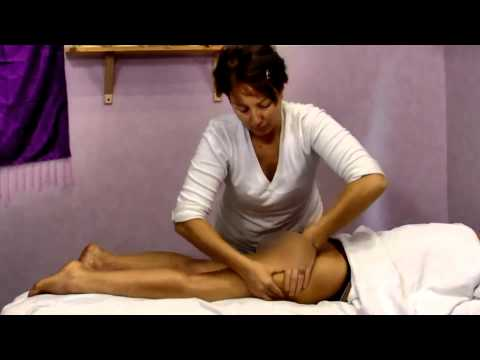 Practical course of Anti cellulite massage – Buttocks and Legs – pt. 3 (sub eng)