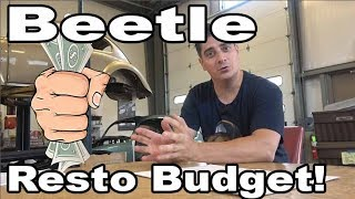 Classic VW BuGs How to Budget your Vintage Beetle Restoration