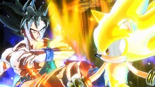 EPIC! ULTRA INSTINCT SON GOKU VS HYPER SONIC | Sprite Battle of Legends Part 1