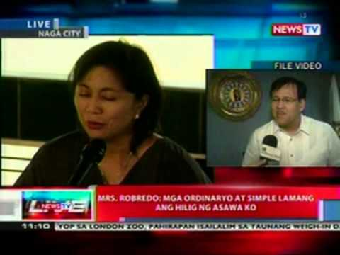 NTL: Mrs. Robredo: I knew on the first night that he was gone