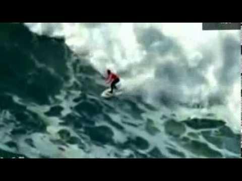 أكبر قفزة عملاقة فوق الأمواج