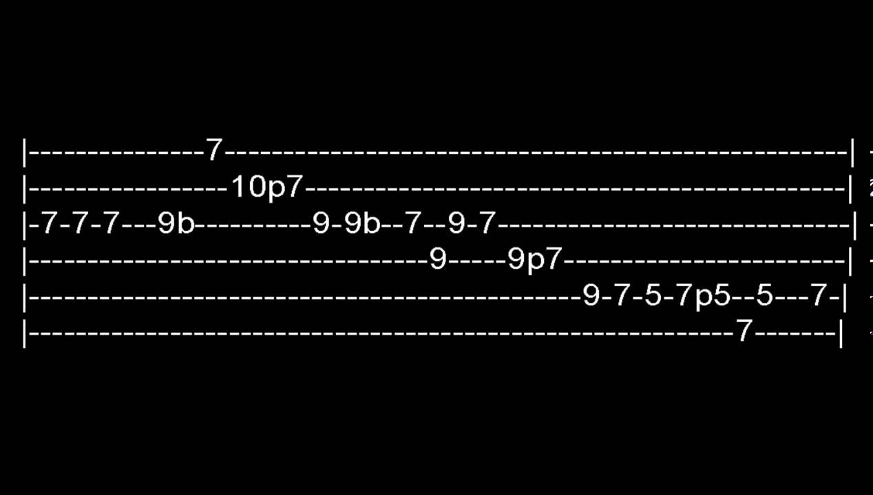 Comfortably Numb Guitar