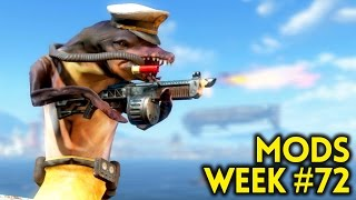 Fallout 4 TOP MODS (PC & XBOX) Week #72 - AMAZING GUNS, C4, SIMS, NEW MONSTERS, NEW VEGAS DESERT