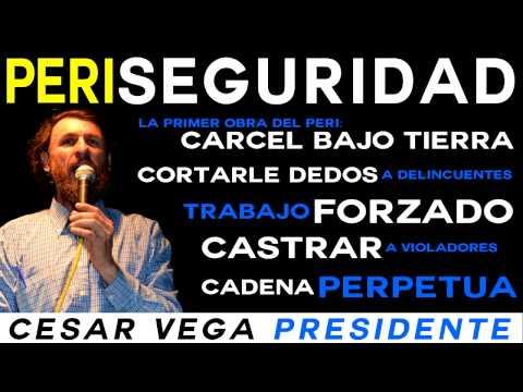 César Vega y las Medidas de Seguridad del PERI