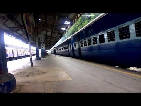 Two Superfast Trains: Mangalore Express And Asansol Express. First, Hear The Chugging...! video