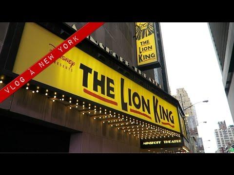 Vlog à New York #3 : émotion totale à Broadway